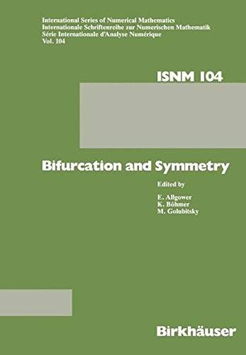 Bifurcation and Symmetry: Cross Influence between Mathematics and Applications (International Series of Numerical Mathematics)