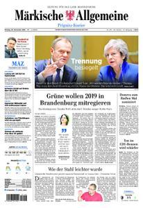 Märkische Allgemeine Prignitz Kurier - 26. November 2018