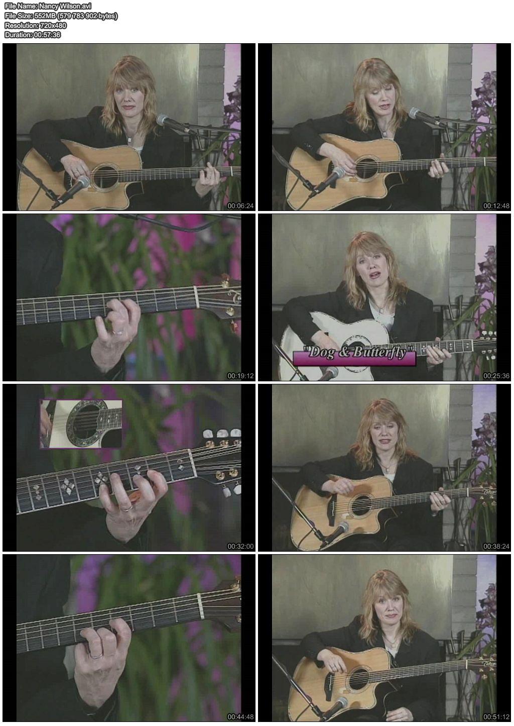 Nancy Wilson - Instructional Acoustic Guitar