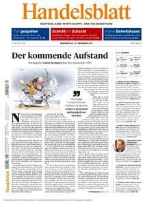 Handelsblatt - 07. Dezember 2017