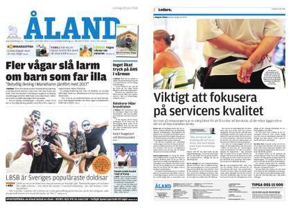 Ålandstidningen – 28 juli 2018