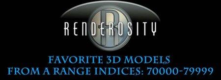 Renderosity 3D Collection. Part V. + Bonus