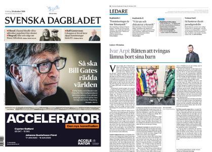 Svenska Dagbladet – 26 oktober 2019