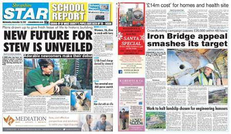 Shropshire Star Shrewsbury Edition – November 15, 2017