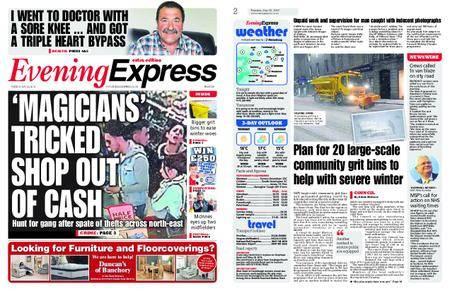 Evening Express – May 22, 2018