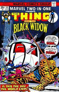 Marvel Two-In-One v1 010 Black Widow 1975