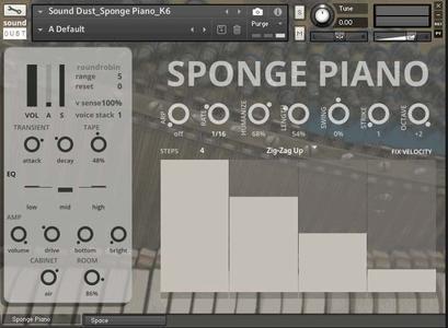 Sound Dust Sponge Piano KONTAKT