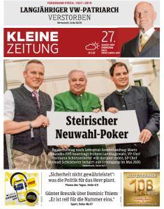 Kleine Zeitung Steiermark - 27 August 2019