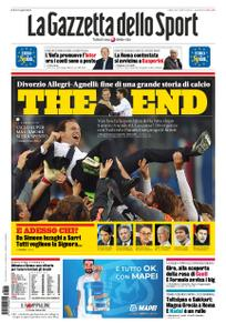 La Gazzetta dello Sport Roma – 18 maggio 2019