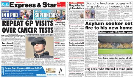 Express and Star Sandwell Edition – September 16, 2019