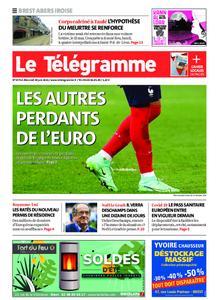 Le Télégramme Brest Abers Iroise – 30 juin 2021