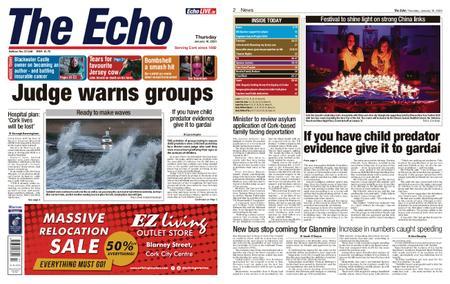 Evening Echo – January 16, 2020