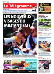 Le Télégramme Auray – 20 mai 2019