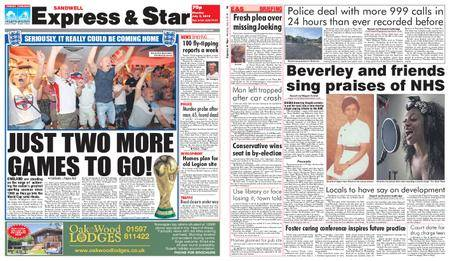 Express and Star Sandwell Edition – July 09, 2018