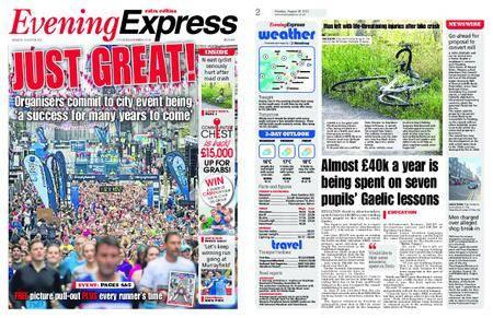Evening Express – August 28, 2017