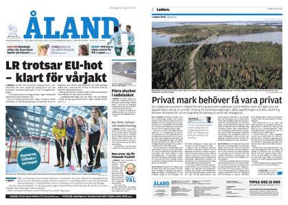 Ålandstidningen – 10 april 2019