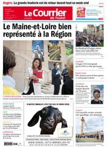Le Courrier de l'Ouest Angers – 03 juillet 2021