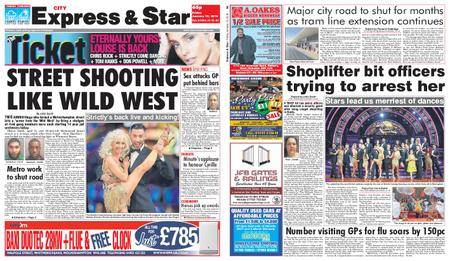 Express and Star City Edition – January 19, 2018