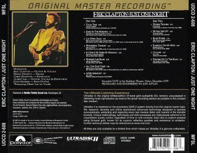 Eric Clapton - Just One Night (1980) [MFSL, UDCD 608]