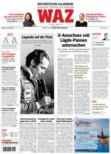 WAZ Westdeutsche Allgemeine Zeitung Oberhausen-Sterkrade - 22. Mai 2019