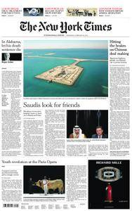 International New York Times - 28 February 2018