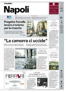 la Repubblica Napoli - 21 Marzo 2019