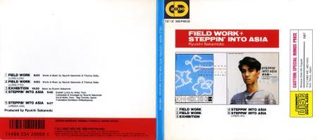 Ryuichi Sakamoto - Field Work, Steppin' into Asia (1987) [Midi Inc. MID-1503, Japan]