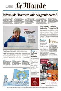 Le Monde du Jeudi 23 Mai 2019