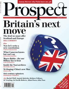 Prospect Magazine - June 2015