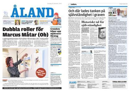 Ålandstidningen – 30 oktober 2019