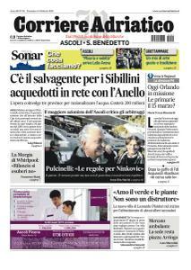 Corriere Adriatico Ascoli - 9 Febbraio 2020