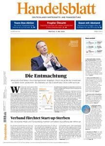 Handelsblatt - 11 Mai 2020