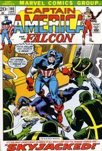 Captain America v1 145 Complete Marvel DVD Collection
