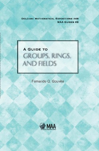 A Guide to Groups, Rings, and Fields (Dolciani Mathematical Expositions)