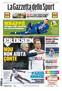 La Gazzetta dello Sport Roma – 22 gennaio 2020