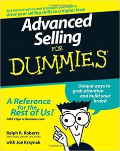 Advanced Selling For Dummies [Repost]