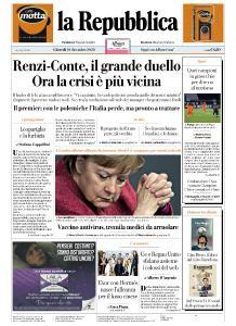 la Repubblica - 10 Dicembre 2020