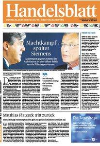 Handelsblatt vom 30 Juni 2013