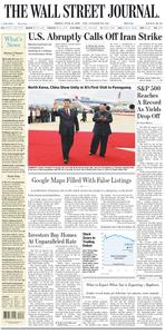 The Wall Street Journal – 21 June 2019