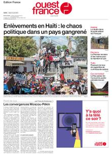 Ouest-France Édition France – 13 avril 2021