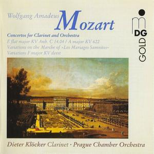 Dieter Klöcker -  Mozart: Concertos for Clarinet and Orchestra (1998)