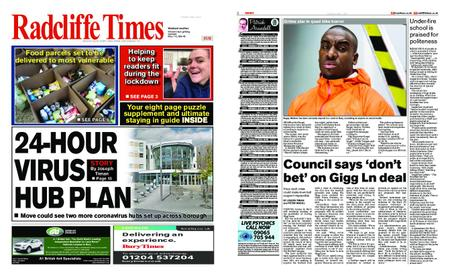 Radcliffe Times – April 02, 2020