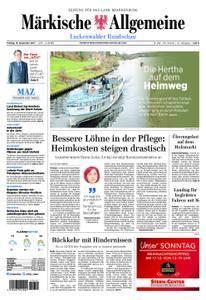 Märkische Allgemeine Luckenwalder Rundschau - 15. Dezember 2017