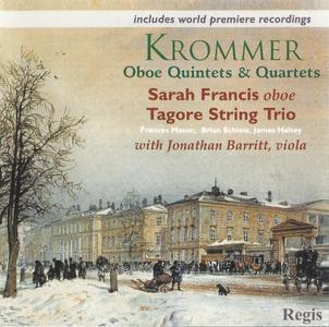Sarah Francis, Tagore String Trio - Krommer: Oboe Quintets & Quartets (2013)