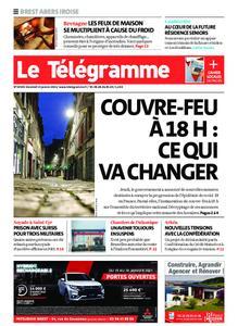 Le Télégramme Brest Abers Iroise – 15 janvier 2021