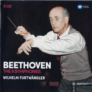 Beethoven - The 9 Symphonies - Wilhelm Furtwangler (2016) {5CD Set Warner Classics-Parlophone 0190295975098 rec 1940-1950}