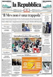 la Repubblica - 6 Luglio 2020