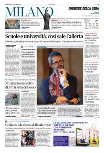 Corriere della Sera Milano – 07 ottobre 2020