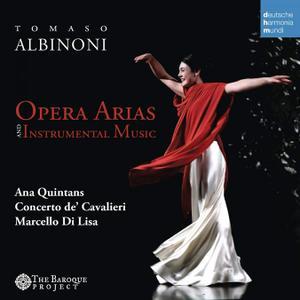 Ana Quintans, Marcello di Lisa, Concerto de'Cavalieri - Albinoni: Opera Arias and Instrumental Music (2015)