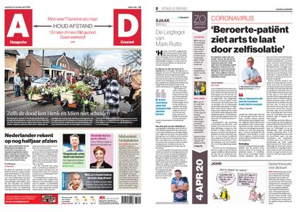 Algemeen Dagblad - Zoetermeer – 04 april 2020